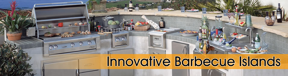 Custom Barbecue Islands And Outdoor Kitchens Part 69